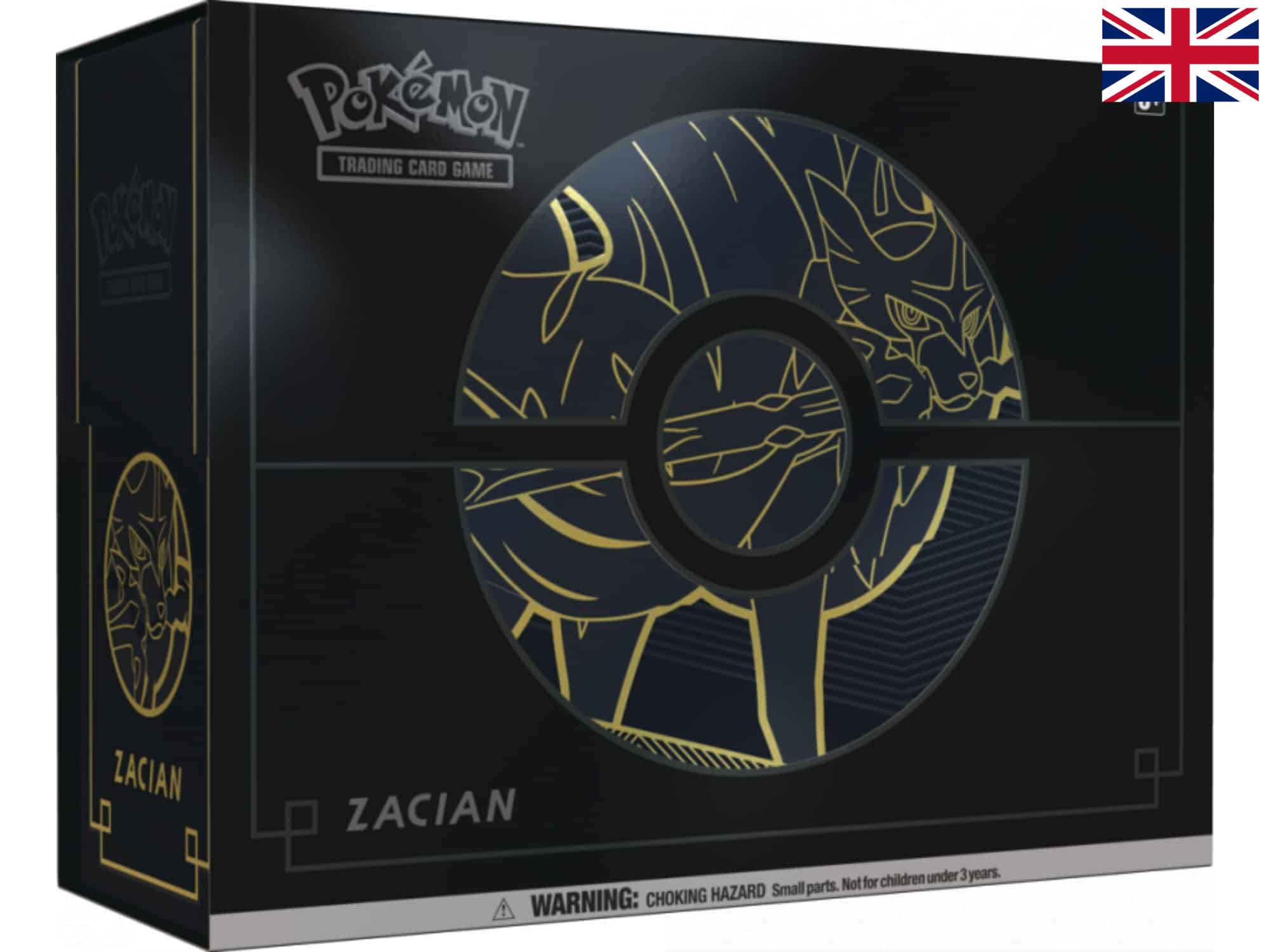 Pokémon - Elite Trainer Box Plus (Zacian)