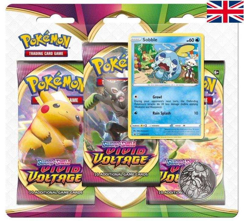 Pokémon - Vivid Voltage Blister - Sobble