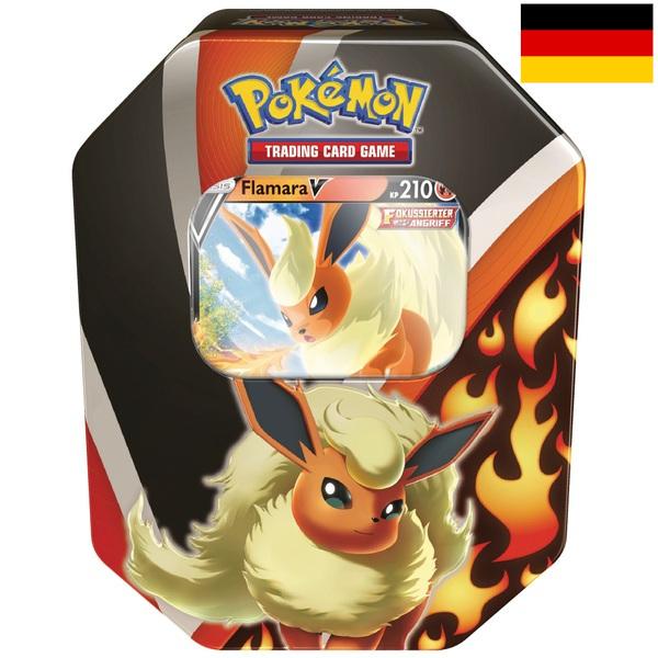 Pokémon - Tin-Box Evoli-Entwicklungen Flamara-V