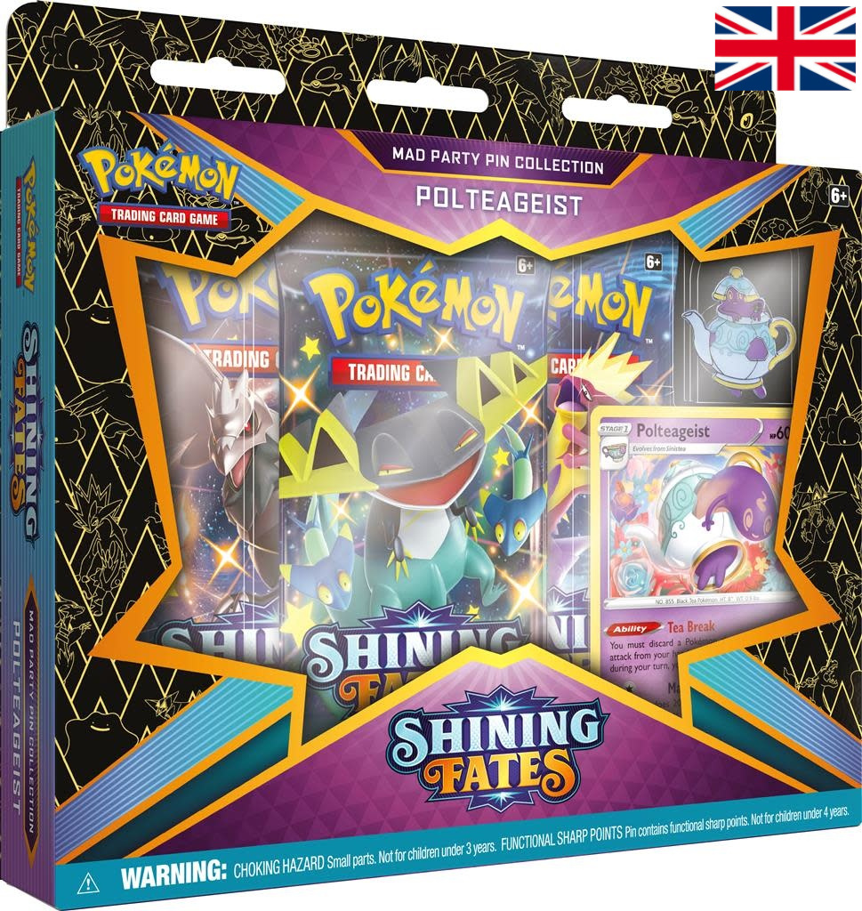 Pokémon - Shining Fates Mad Party Pin Collection - Polteageist