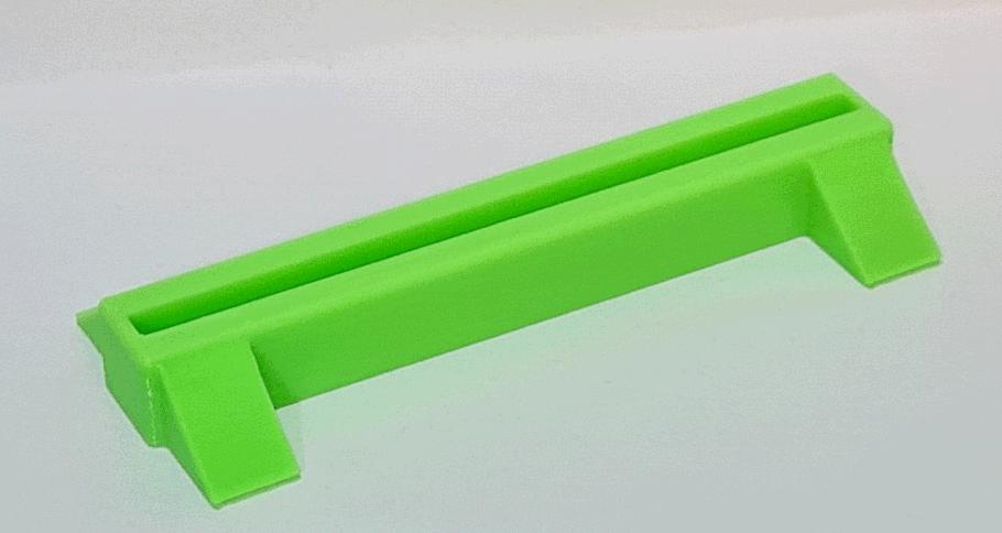 Toploader Stand/Halterung - Grün