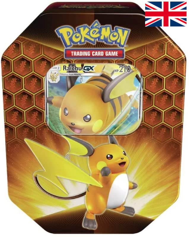Pokémon - Hidden Fates Tin - Raichu GX
