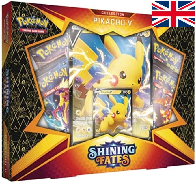 Pokémon - Shining Fates Pikachu V Box
