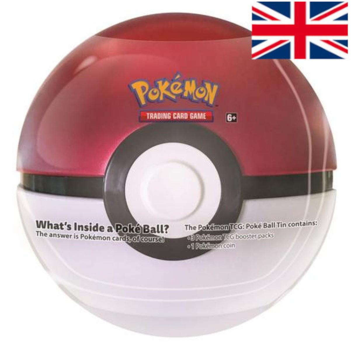 Pokémon - March 2021 POKÉBALL TIN