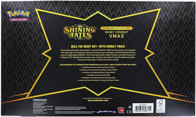 Pokémon - Shining Fates Crobat Vmax Box
