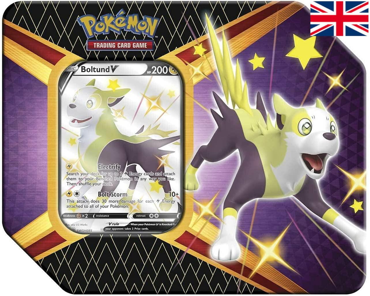 Pokémon - Shining Fates Tin - Boltund