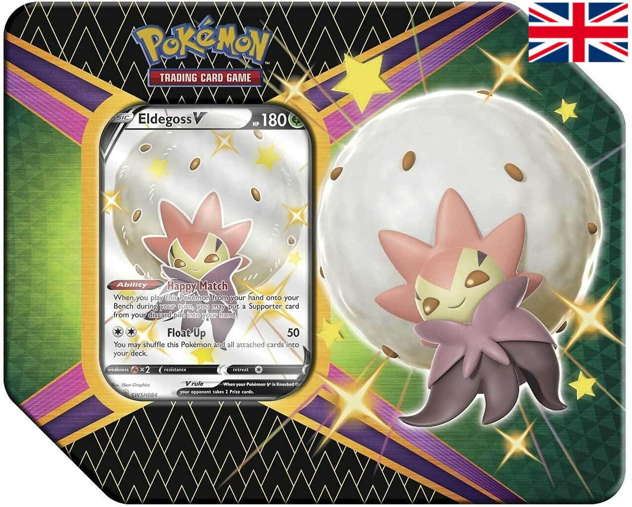 Pokémon - Shining Fates Tin - Eldegoss