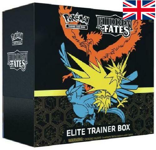 Pokémon - Hidden Fates Elite Trainer Box