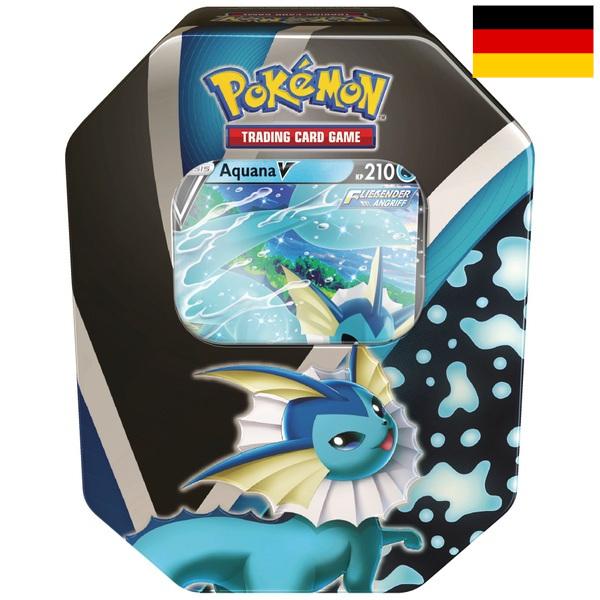 Pokémon - Tin-Box Evoli-Entwicklungen Aquana-V