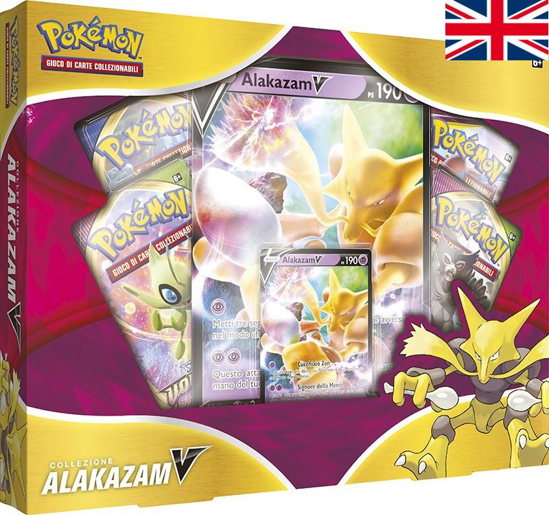 Pokémon - Alakazam V Box